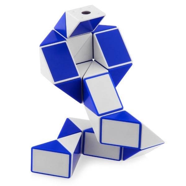 Xinlexin Twist Puzzle-Snake (azul)