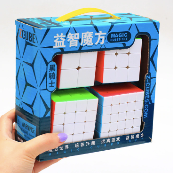 Zcube set de 4 cubos stickerless (2x2, 3x3, 4x4, 5x5)