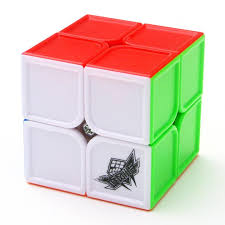 Cyclone-Boys Cube 2x2x2 Feihu Sculpture (Stickerless)