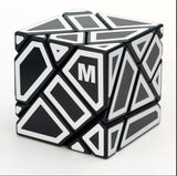 Ninja 3x3 Ghost Cube con M stickers