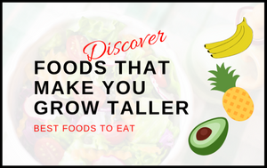Top 5 healthy foods that will help you grow taller and stronger.