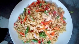 How to make special indomie with eggs