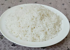 Delicious plain rice recipe