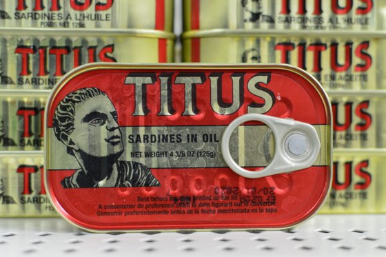 Canned Titus Sardines - 125g