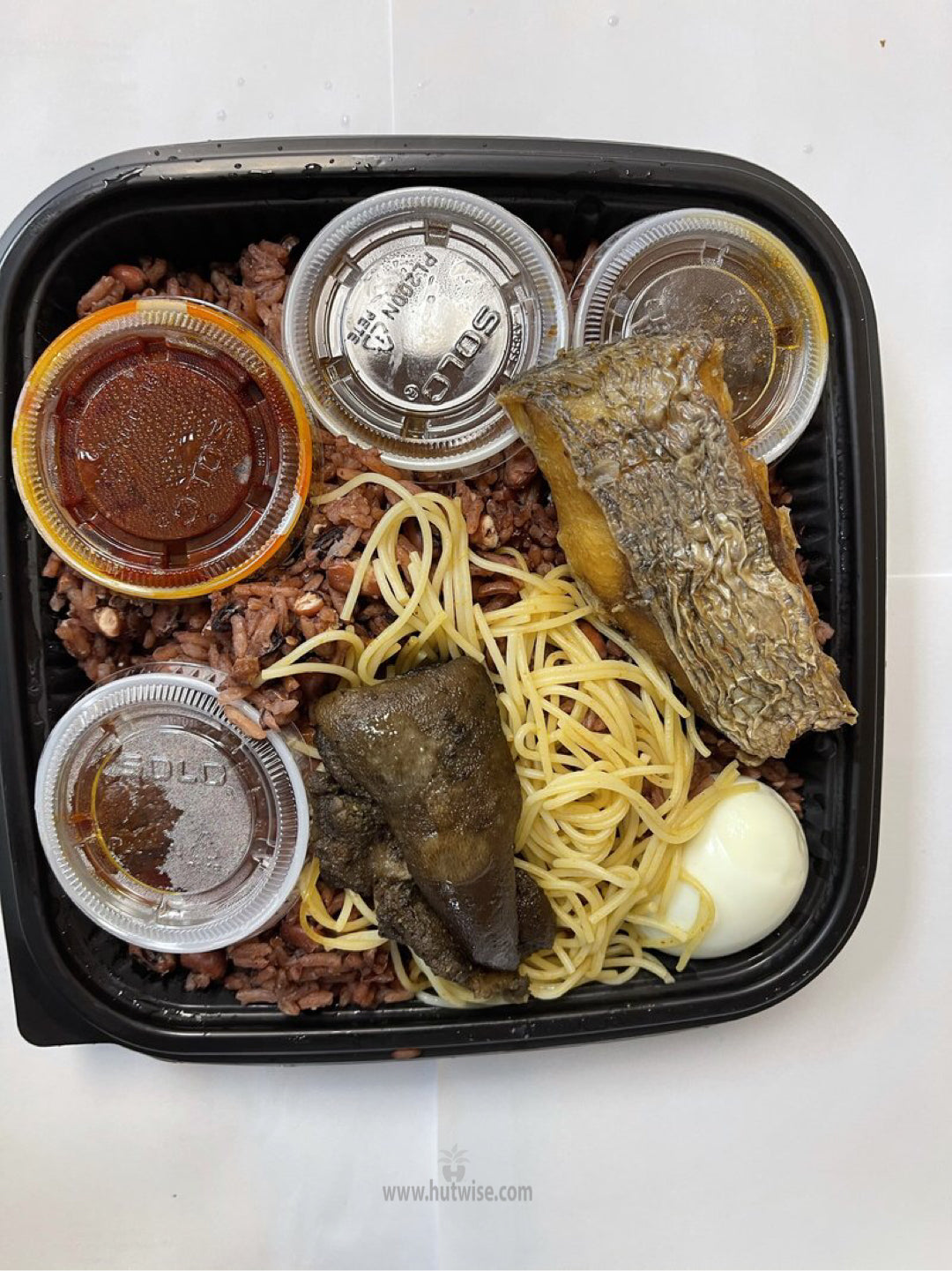 Cooked Waakye (In Person Delivery for NY,NJ,PA Only)