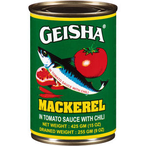 Geisha Mackerel (Green) - 15 Oz