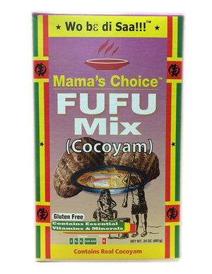 Mama's Choice Cocoyam Fufu - 24 Oz