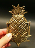 Antique Vintage Style Brass Pineapple Door knocker - Early Home Decor