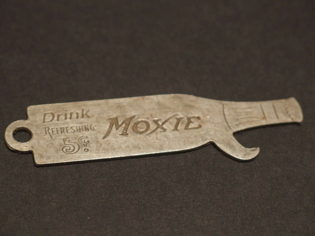 Antique Vintage Style Moxie Bottle Opener - Early Home Decor