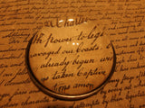 Vintage Antique Style Heavy Magnifying Glass Desktop Table Lens - Early Home Decor