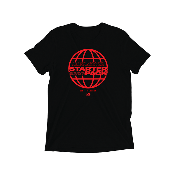 Starter Pack World Tour T-shirt (black)