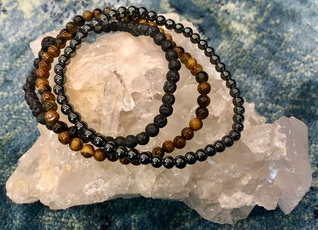 Energetic Support Bracelets: Deep Roots