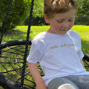 Reiki Infused  Kids T-shirt