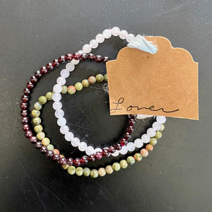 Energetic Support Bracelets: Lover