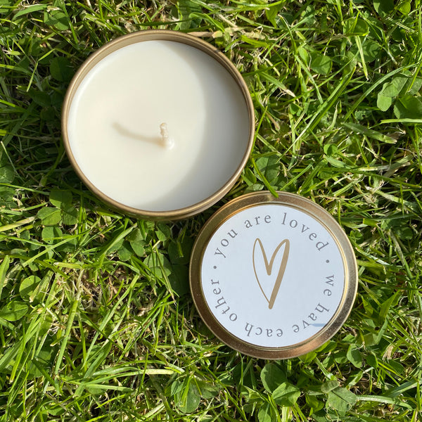 Body and Soul Candle in a Tin