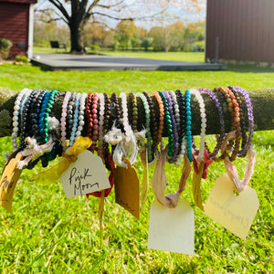 Energetic Support Bracelets: Body + Soul