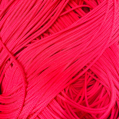 NEON Pink Poly-E  Water Ski Rope