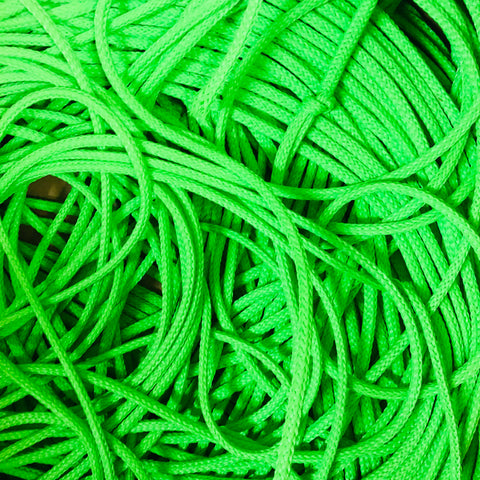 NEON Lime Poly-E  Water Ski Rope