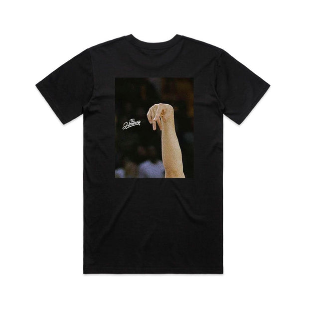 FOLLOW THROUGH TEE - BLACK