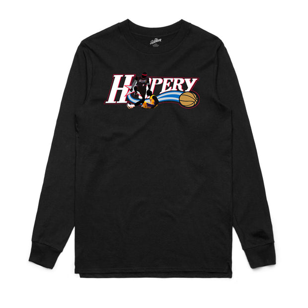 THE ANSWER L/S - BLACK