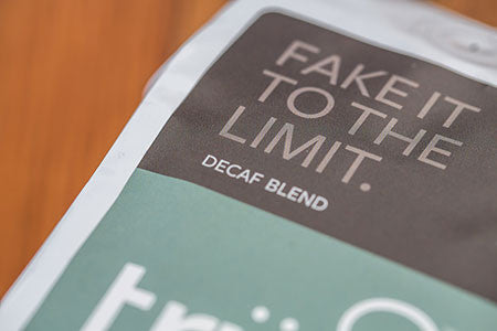 Fake it to the Limit low-acid decaf coffee roast