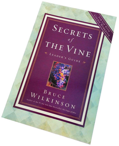 Secrets of the Vine Leader's Guide