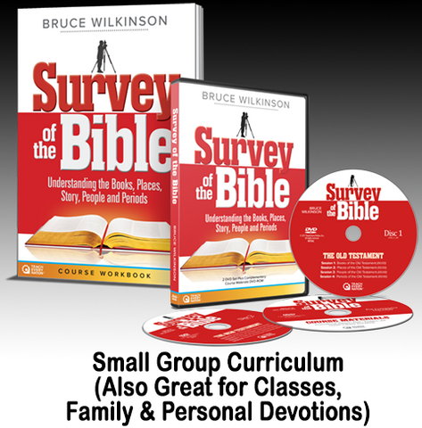 Survey of the Bible: Understanding the Books, Places, Story, People and Periods