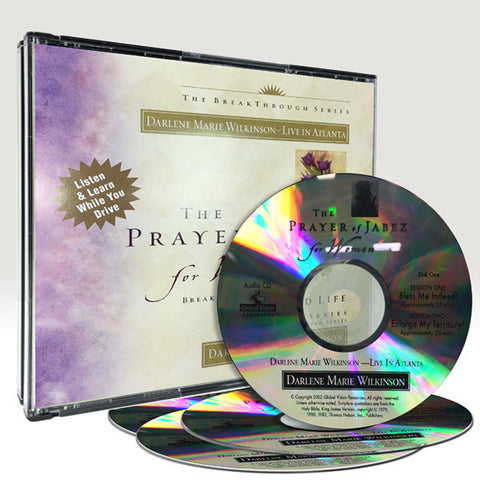 Prayer of Jabez For Women Audio CD Series