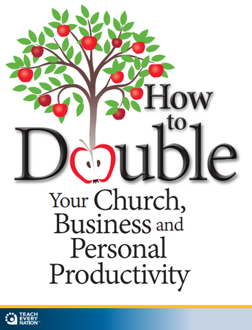 Stream Now!  How to Double Your Church, Business and Personal Productivity