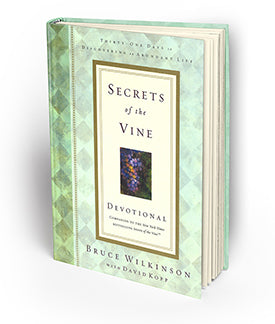 Secrets of the Vine Devotional (Hardcover)