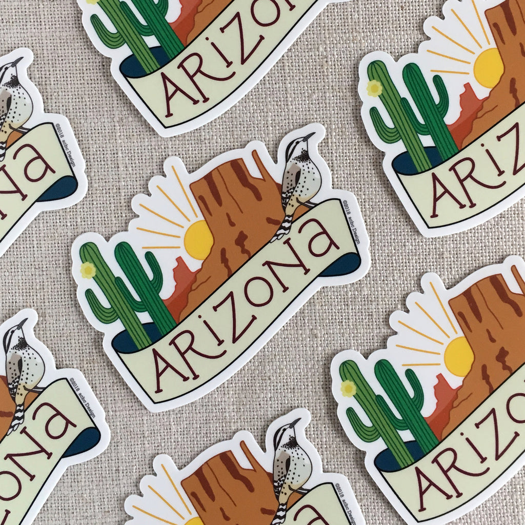 Arizona Vinyl Sticker