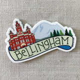 Bellingham Washington Vinyl Sticker