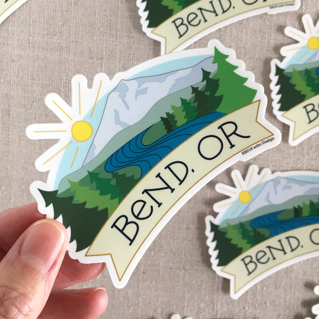 Bend Mt Bachelor Sticker