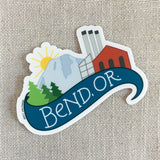 Bend Oregon Vinyl Sticker