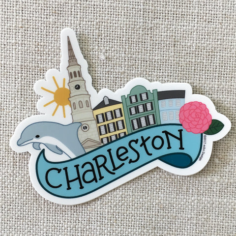Charleston South Carolina Vinyl Sticker