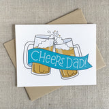 Cheers Dad! Father's Day Card