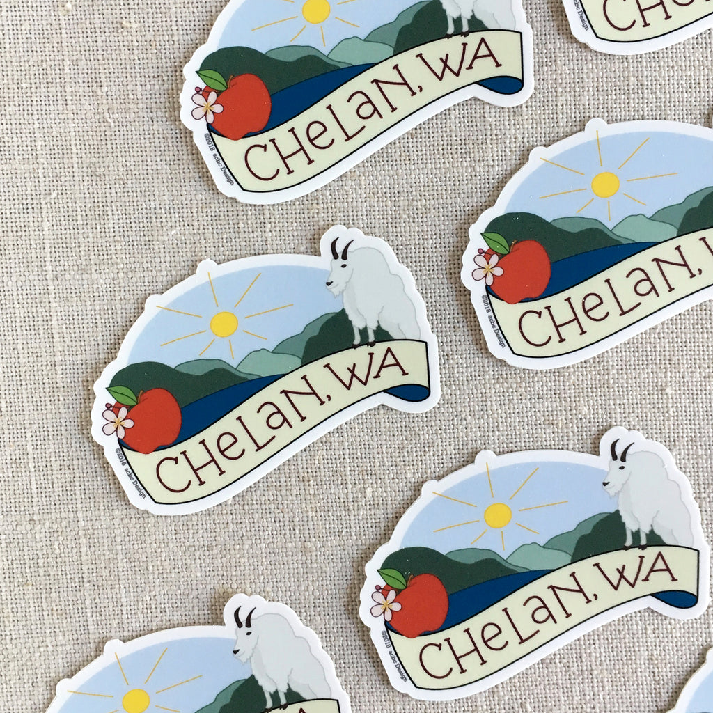 Chelan Washington Sticker