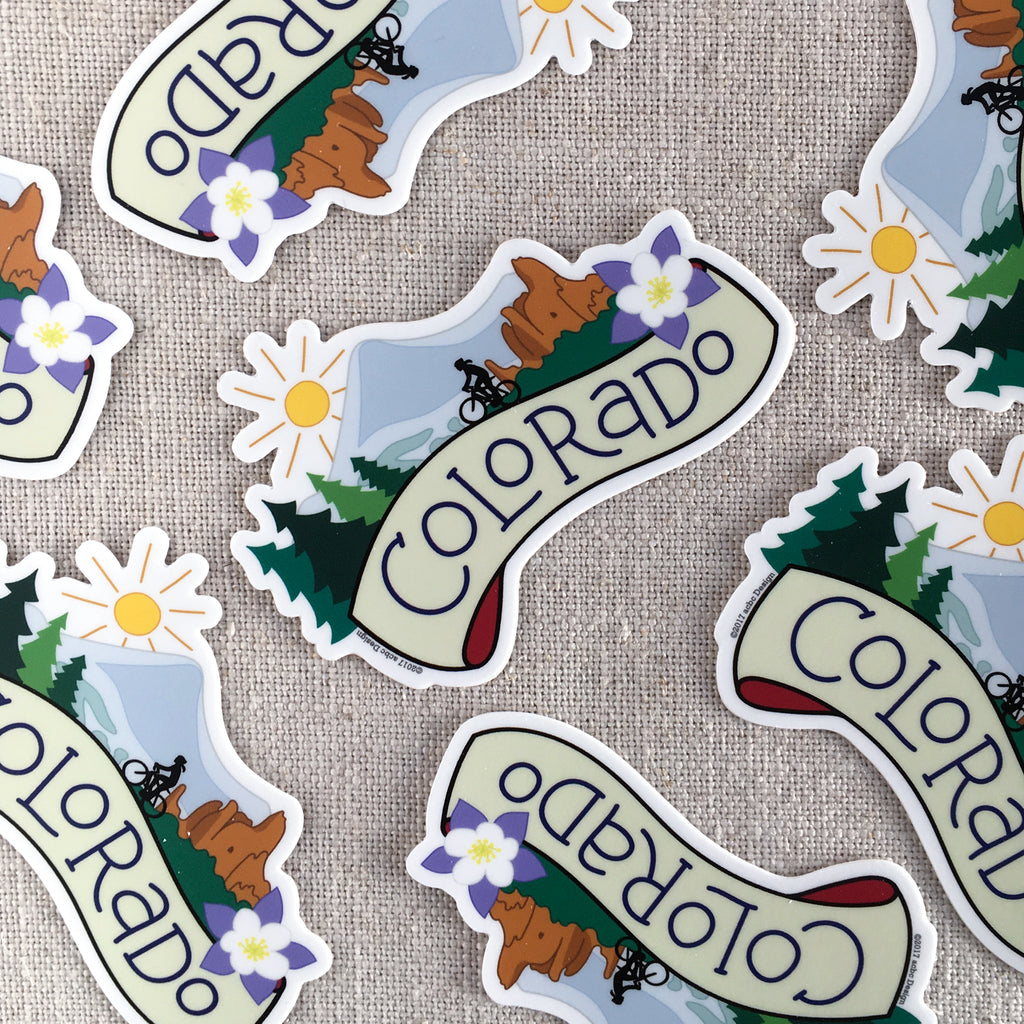 Colorado Vinyl Sticker