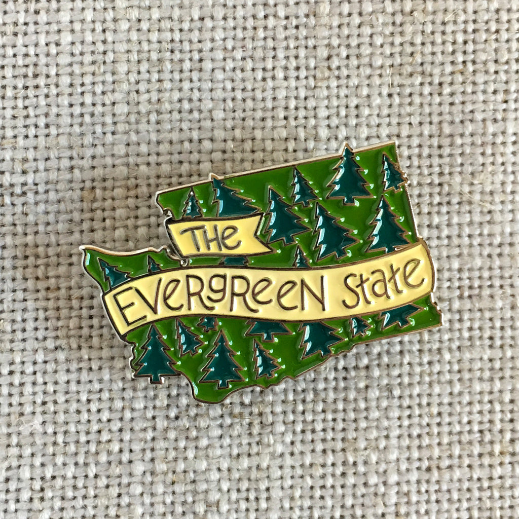 Evergreen State Lapel Pin