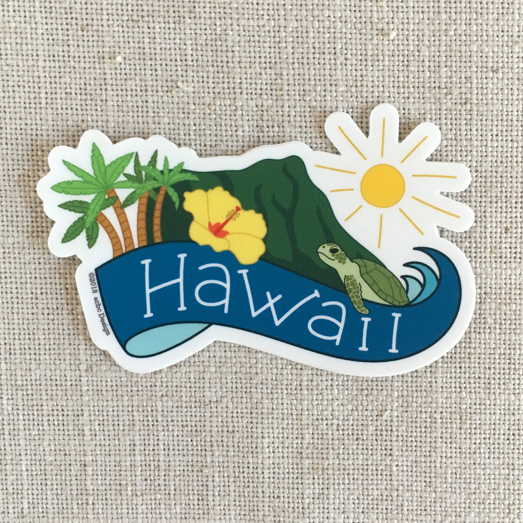 Hawaii Vinyl Sticker