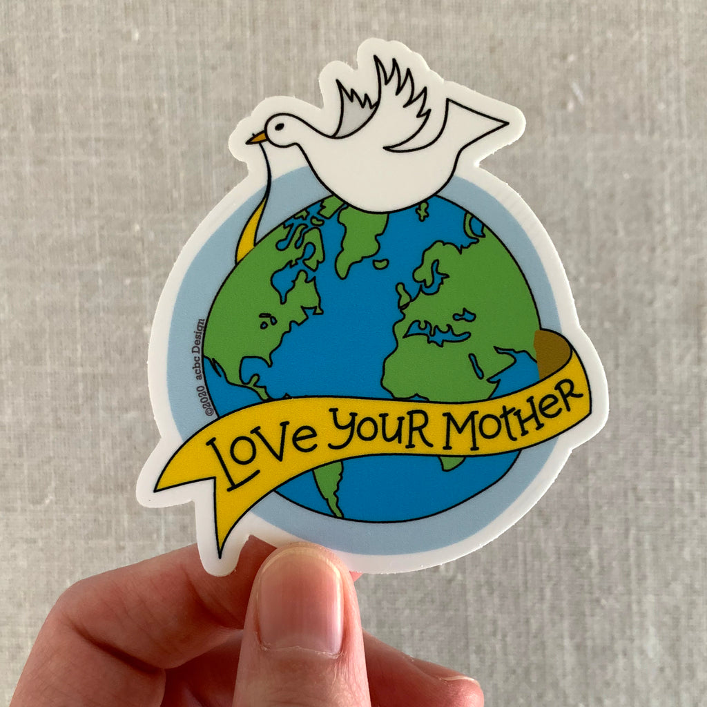 Love Your Mother Vinyl Sticker