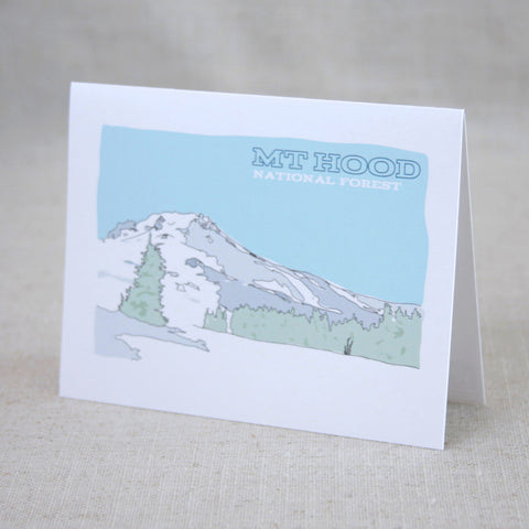 Mt Hoot National Forest Note Card