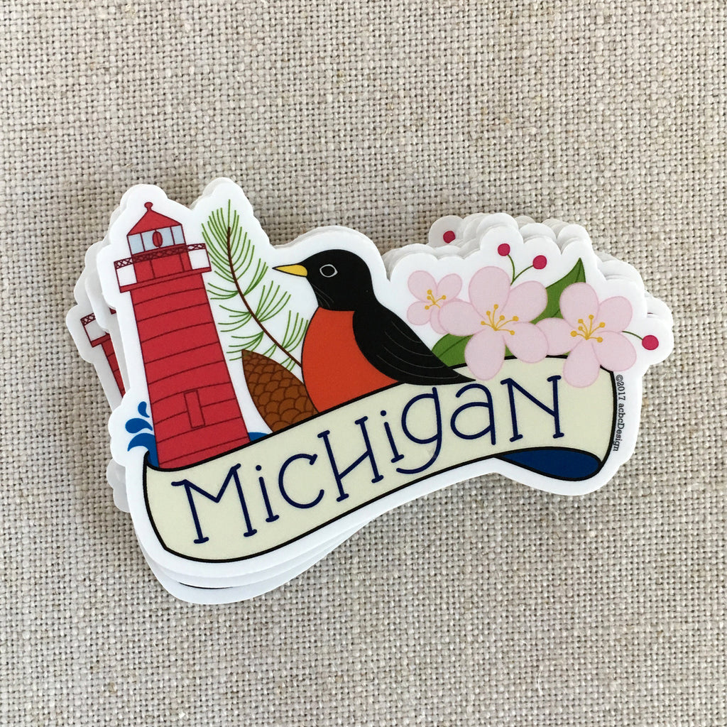 Michigan Vinyl Sticker