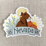Nevada 1864 Vinyl Sticker