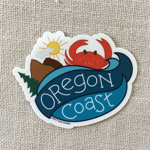 Oregon Coast Vinyl Sticker