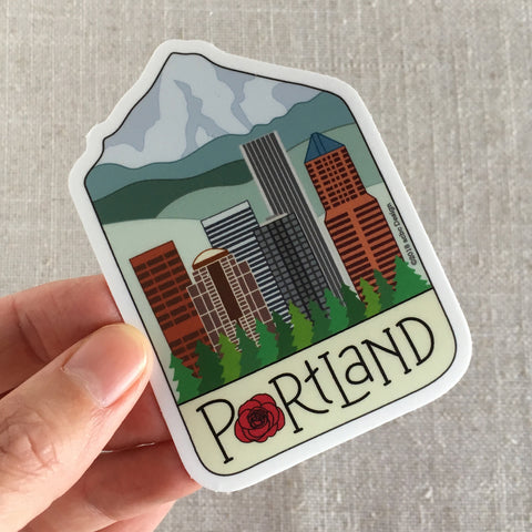 Portland City Sticker