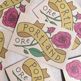 Portland Oregon Rose Postcards / Set of 6
