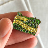 Pacific Wonderland Enamel Lapel Pin