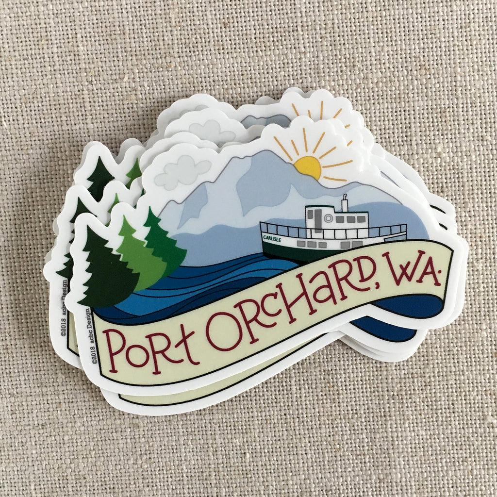 Port Orchard, WA Vinyl Sticker