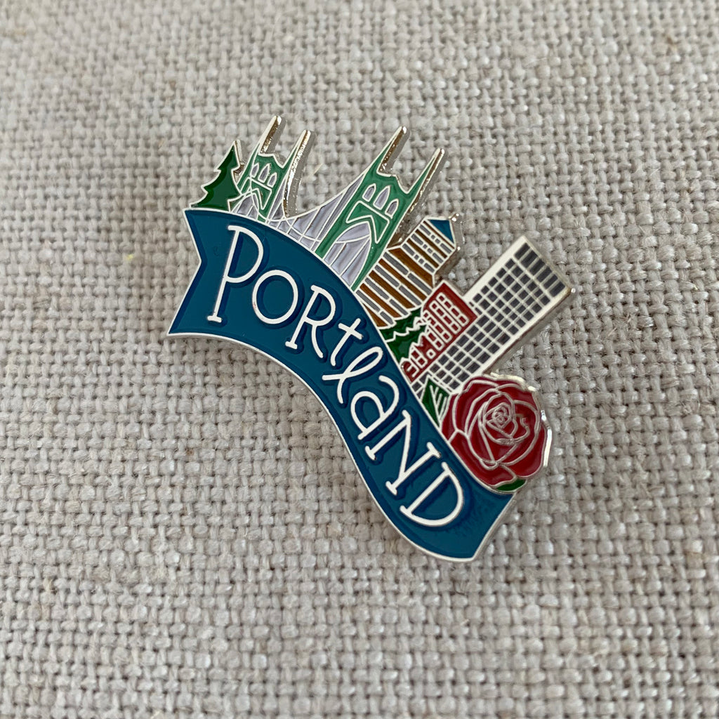 Portland Oregon Lapel Pin